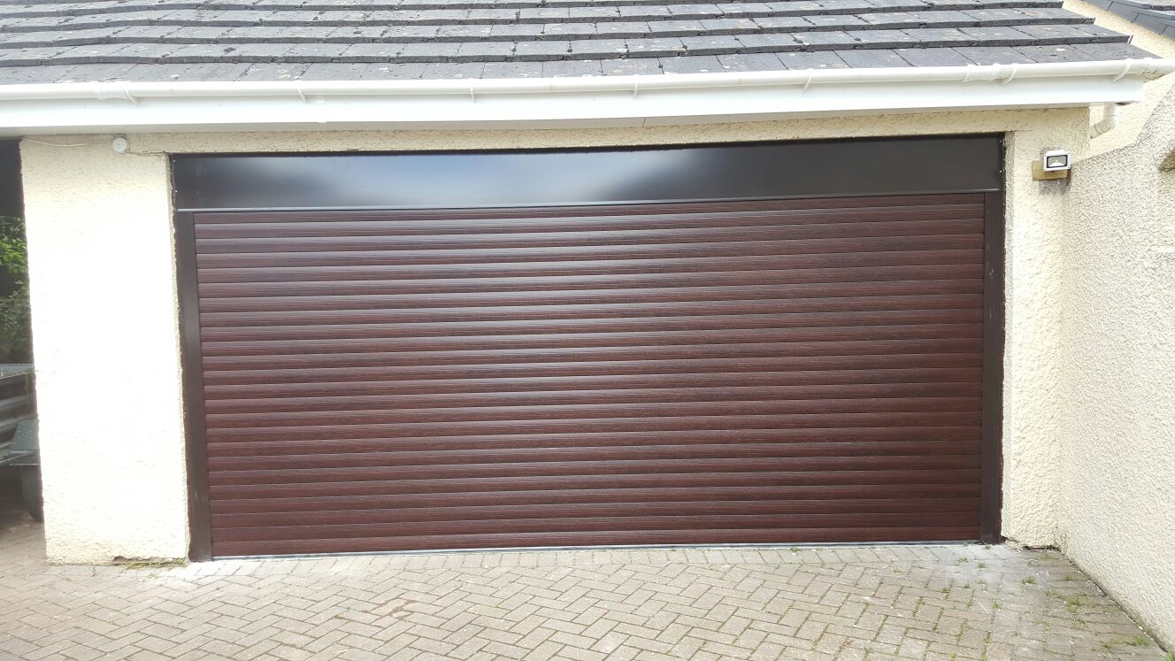 Rd77 Classic Large Roller Garage Door
