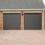 Electric Roller Garage Door