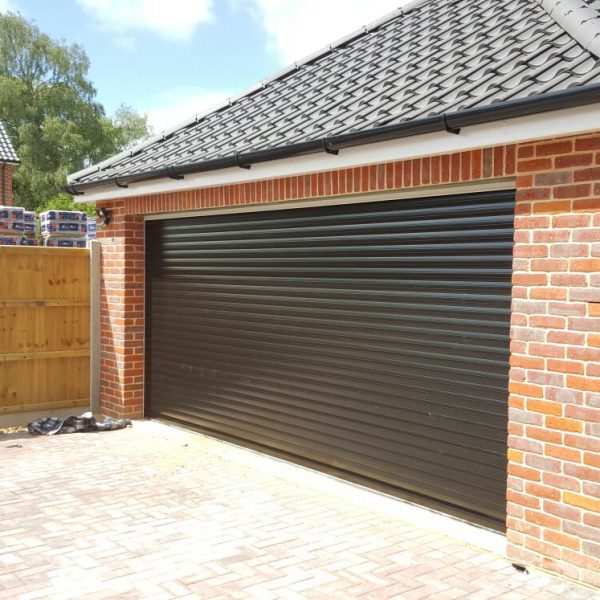 RD77 DIY Double Roller Garage Door