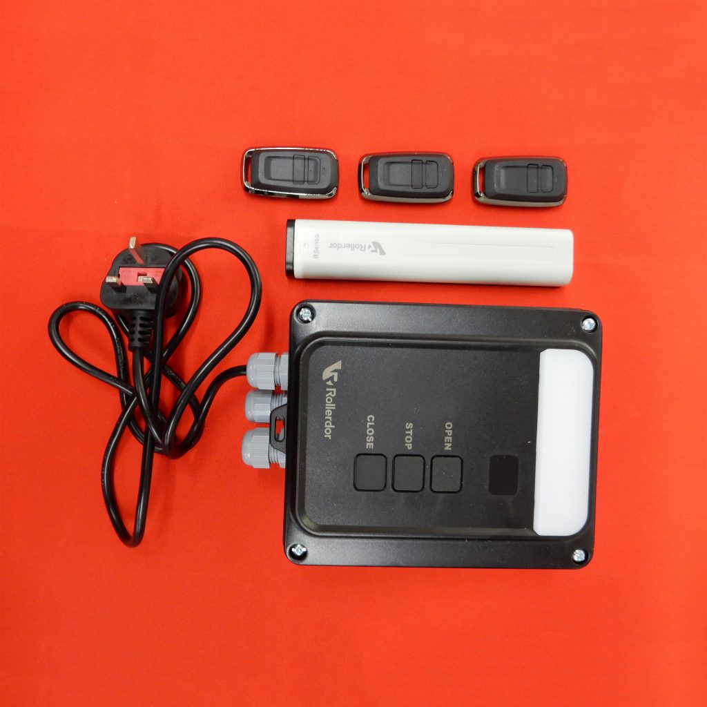 Rd10x3 Remote Control Receiver Box With Wireless Safety