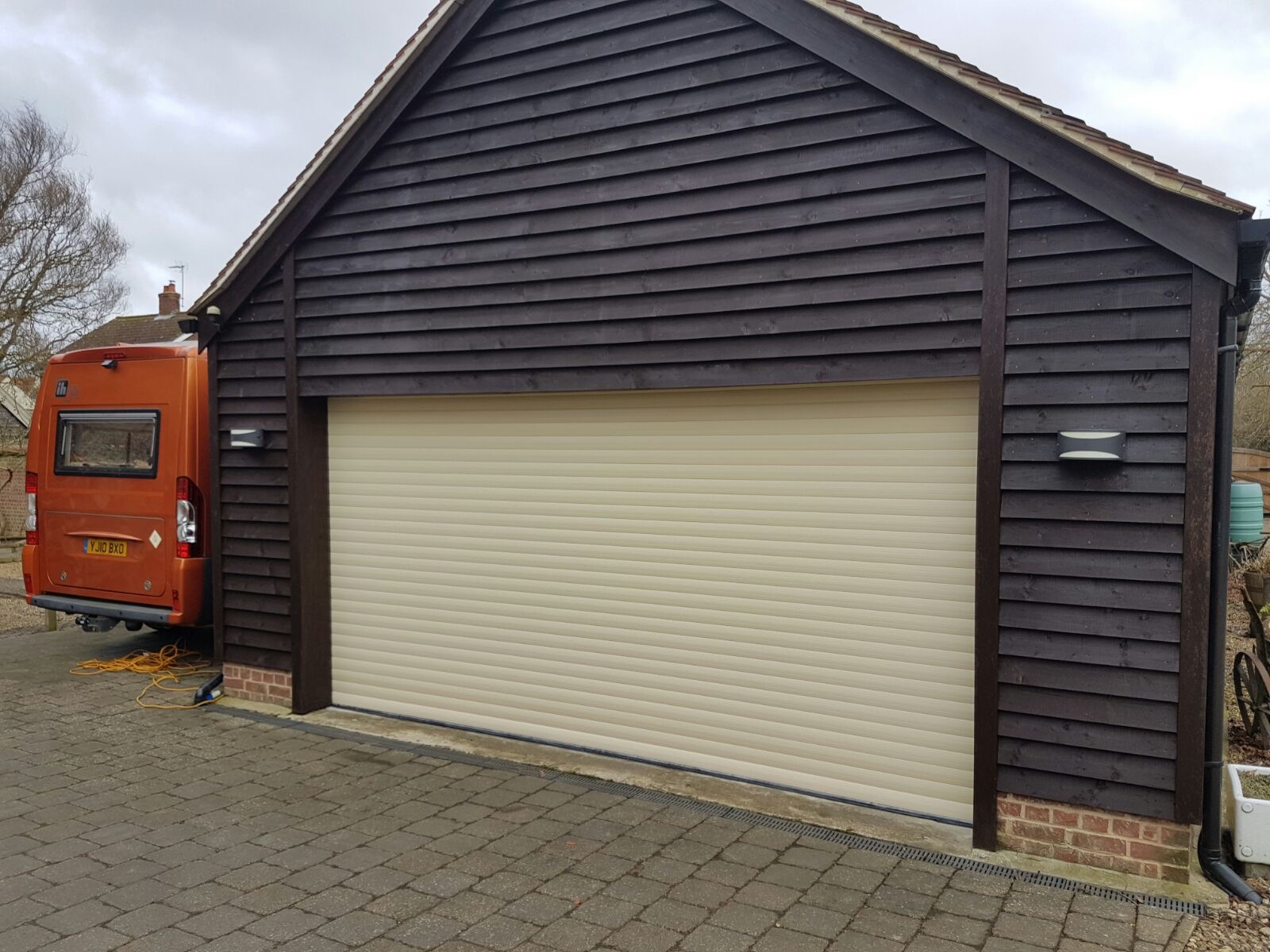Nice Just A Quick Note To Say Thank You For The Excellent Service Your Company  Gave From Order Placement To Delivery. I Have Fitted The Garage Door And I  Am ...