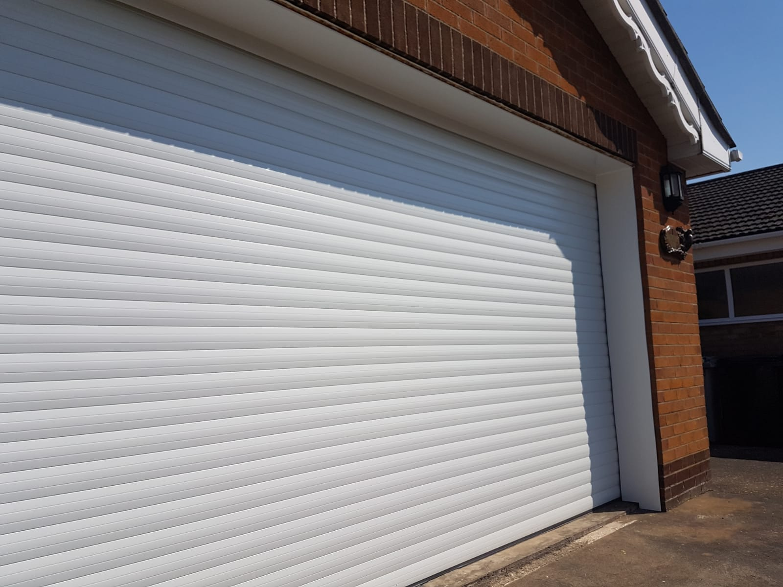 Rd77 Executive Double Roller Garage Door Rollerdor Ltd